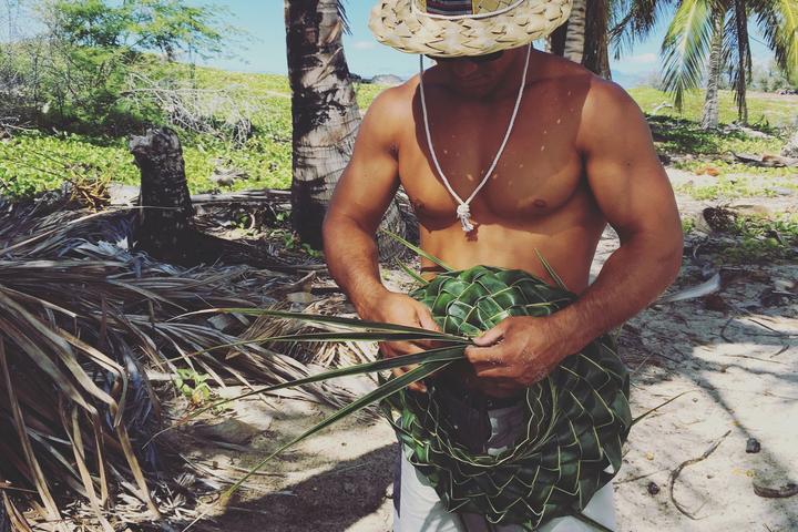 Pet Friendly Coconut Hat Weaving Class
