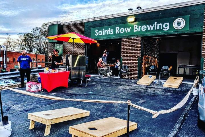 Pet Friendly Saints Row Brewing