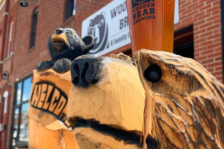 Pet Friendly Wooden Bear Brewing Co.