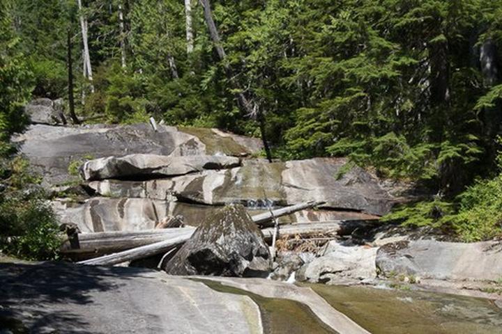 Pet Friendly Big Creek Falls (Taylor River)