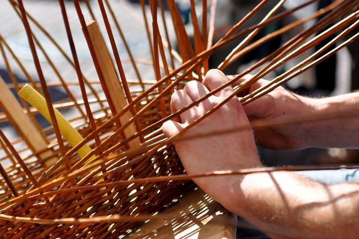 Pet Friendly Natural Basket Weaving in Joshua Tree