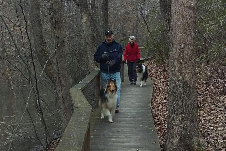 Pet Friendly Chinqua-Penn Walking Trail