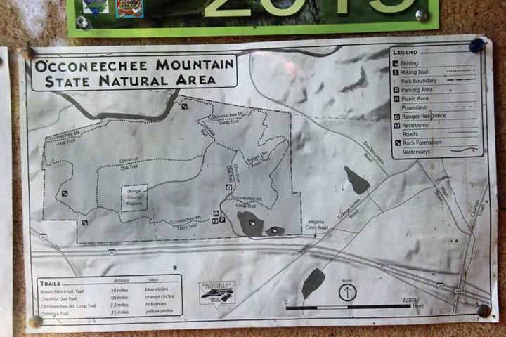 Pet Friendly Occoneechee Mountain Trail