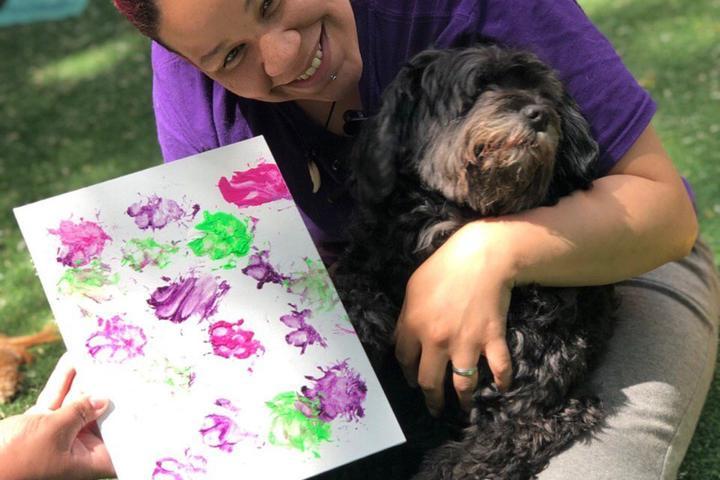 Pet Friendly Puppy Picasso
