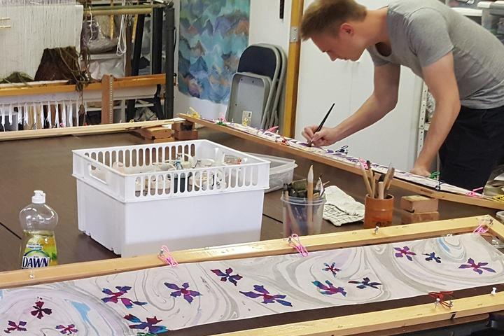 Pet Friendly Silk Painting and Batik