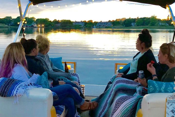 Pet Friendly Private Sunset Hamptons Boat Cruise