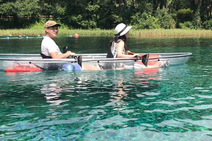 Pet Friendly Clear Kayaking Rainbow Springs