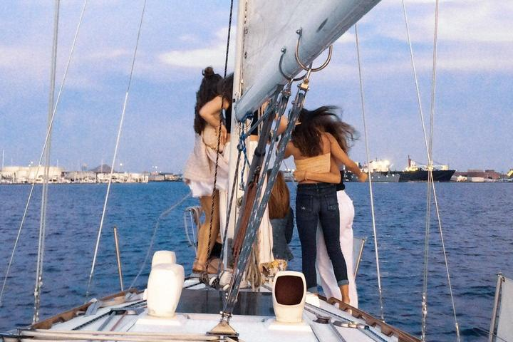 Pet Friendly Sunset Sail with Wine and Cheese