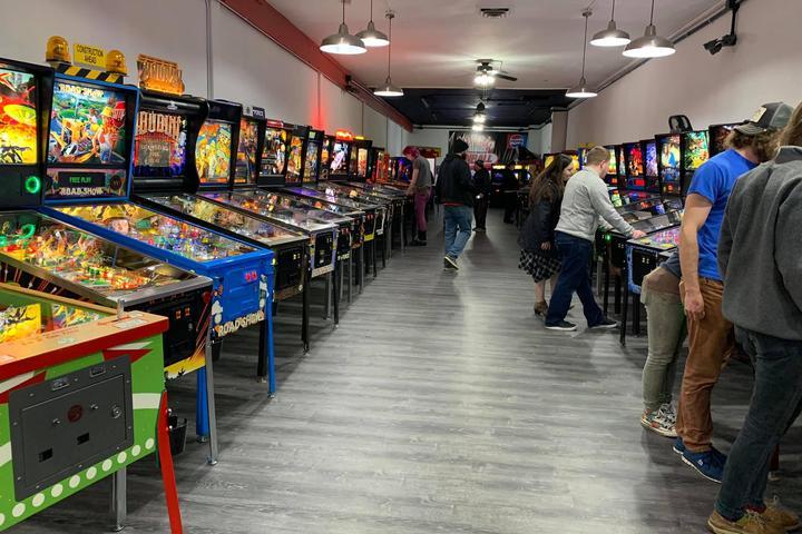 Pet Friendly Olympia Pinball Museum