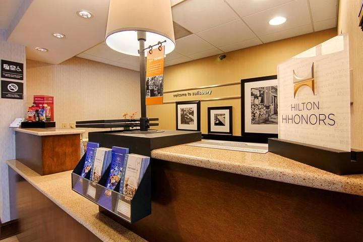 Pet Friendly Hampton Inn Salisbury