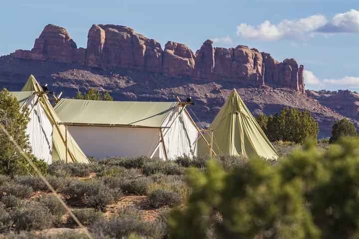 Pet Friendly Under Canvas Moab
