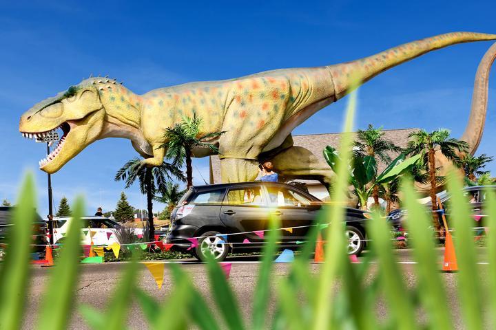Pet Friendly Dinosaur Adventure Drive-Thru