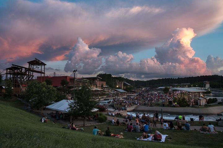 Pet Friendly River Jam at the U.S. National Whitewater Center