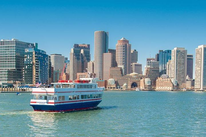 Pet Friendly Howl-o-Ween Doggie Costume Party Cruise with Massachusetts Bay Lines