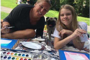 Pet Friendly Paint Your Pet Pup Picnic