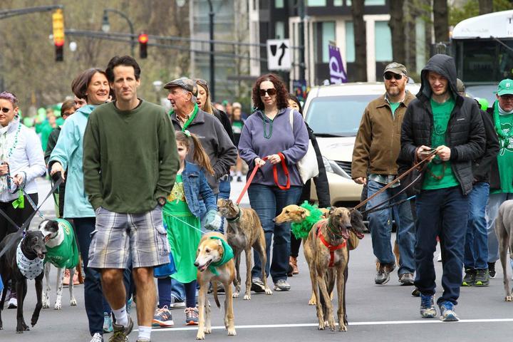 Pet Friendly Atlanta St. Patrick's Day Parade 2022