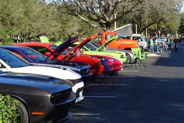 Pet Friendly Caffeine and Chrome at Gateway Classic Cars of Tampa