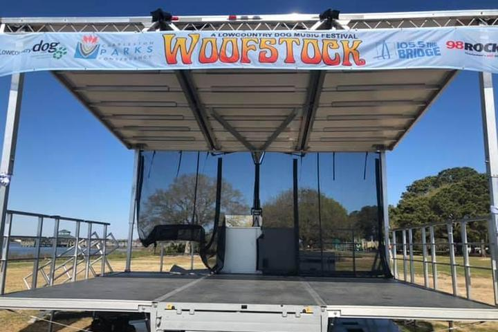 Pet Friendly Woofstock - A Lowcountry Dog Music Festival