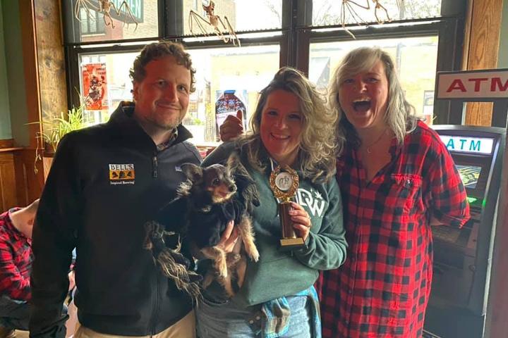 Pet Friendly St PIEtricks Day Dog & Human Pi(e) Eating Contest