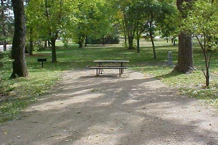 Pet Friendly Johnson Lake SRA Campground
