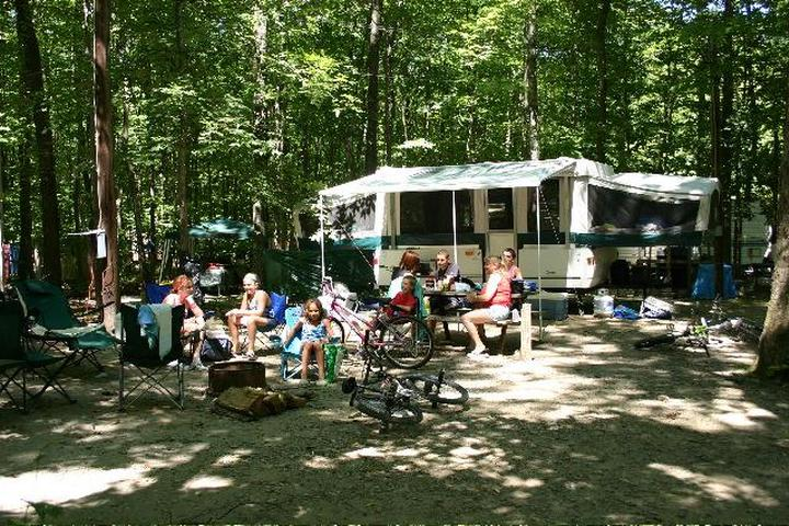 Pet Friendly Kymer's Camping Resort