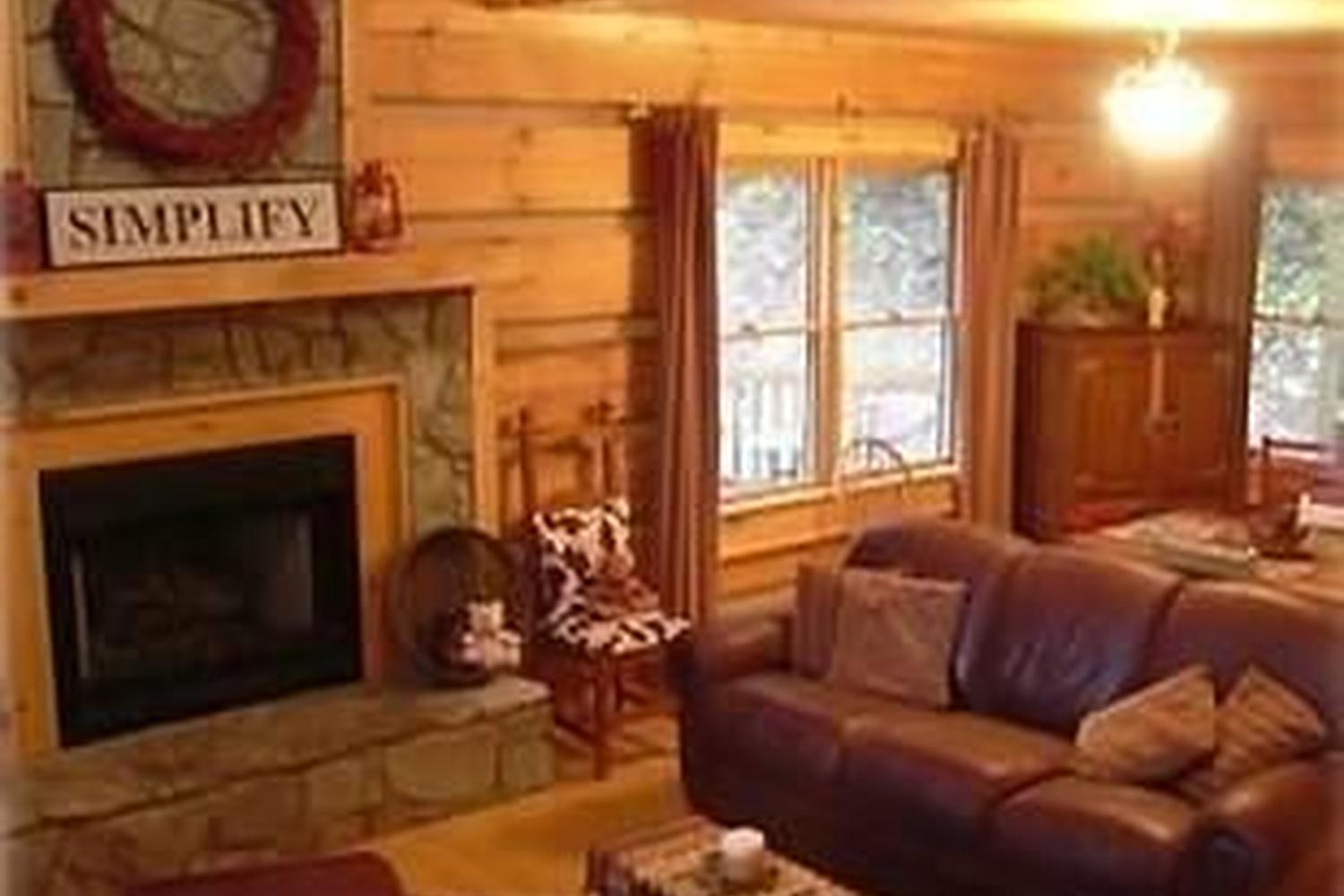 Log Cabin Home Hottub Views Wifi Pet Policy