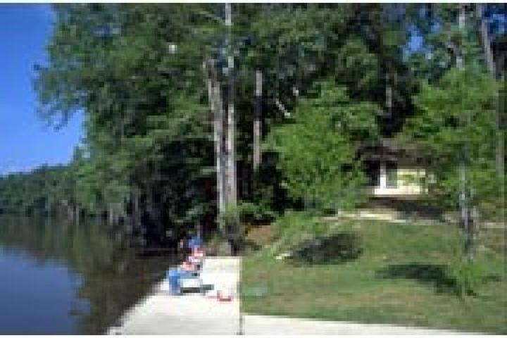 Pet Friendly Sam Houston Jones State Park Campground
