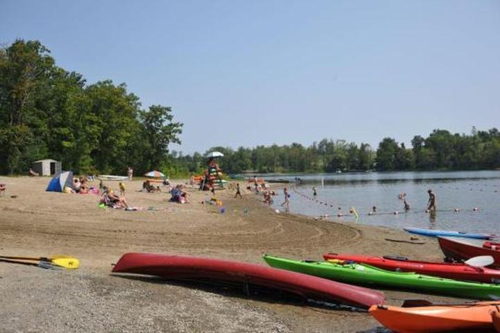 Pet Friendly Thompsons Lake State Park Campground