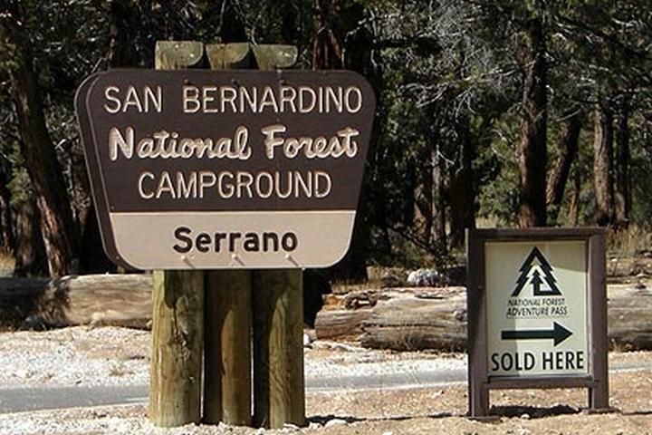 Pet Friendly Serrano Campground