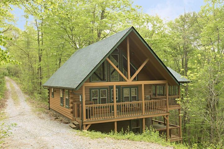 Pet Friendly Chickadee Cabin at Hummingbird Hill