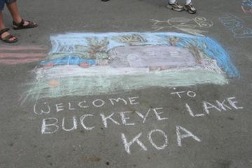 Pet Friendly Buckeye Lake / Columbus East KOA