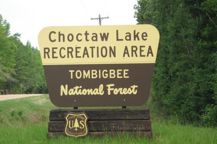Pet Friendly Choctaw Lake Campground
