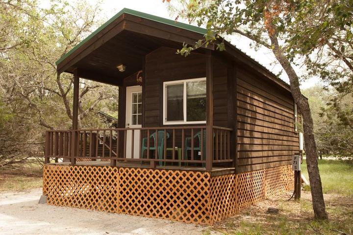 Pet Friendly San Benito Camping Resort Studio Cabin 1