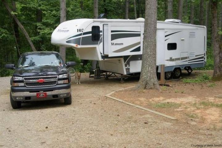Pet Friendly Fort Hamby Park Campground