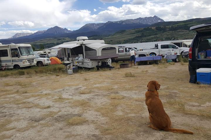 Pet Friendly Cow Creek South Campground