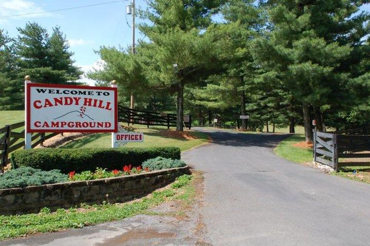 Pet Friendly Candy Hill Campground