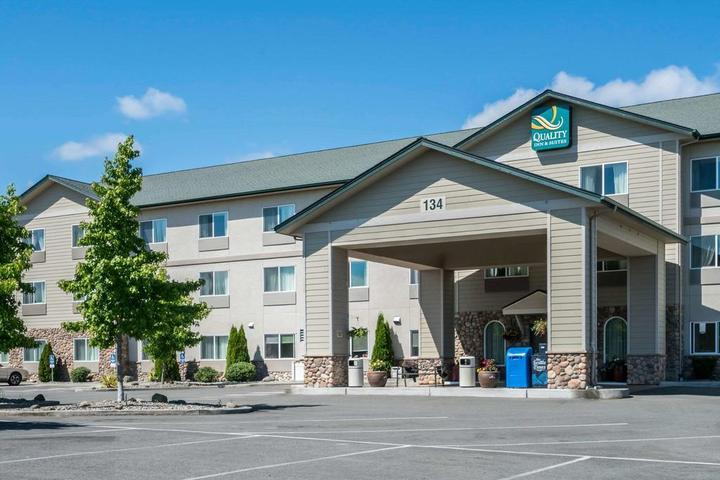 Pet Friendly Quality Inn and Suites Sequim