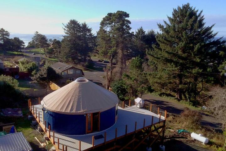 Pet Friendly Otter Rock Surf Yurt