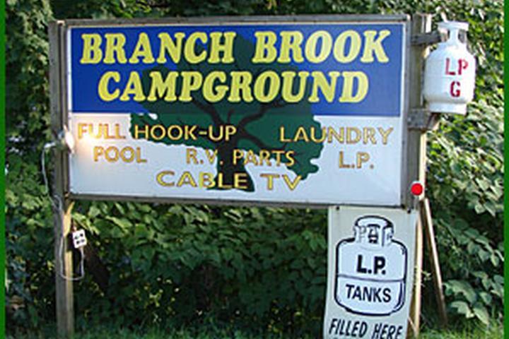 Pet Friendly Branch Brook Campground