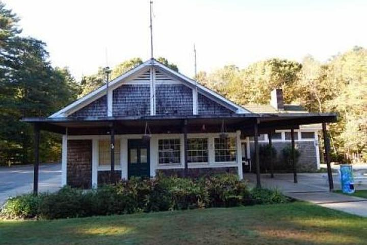 Pet Friendly Wompatuck State Park Campground