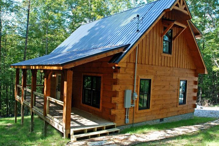 Pet Friendly Horseshoe Ridge Log Cabin