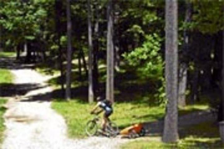 Pet Friendly Mills-Norrie State Park Campground
