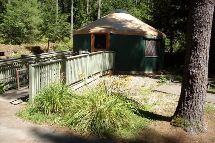 Pet Friendly Otter River State Forest Campground