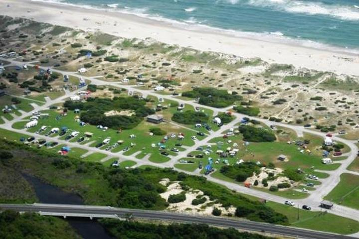 Pet Friendly Ocracoke Campground
