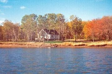 Pet Friendly 2-Bedroom Waterfront Cottage with Deck & Fire Pit