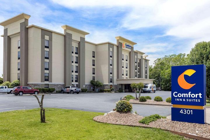 Pet Friendly Comfort Inn and Suites Little Rock Airport