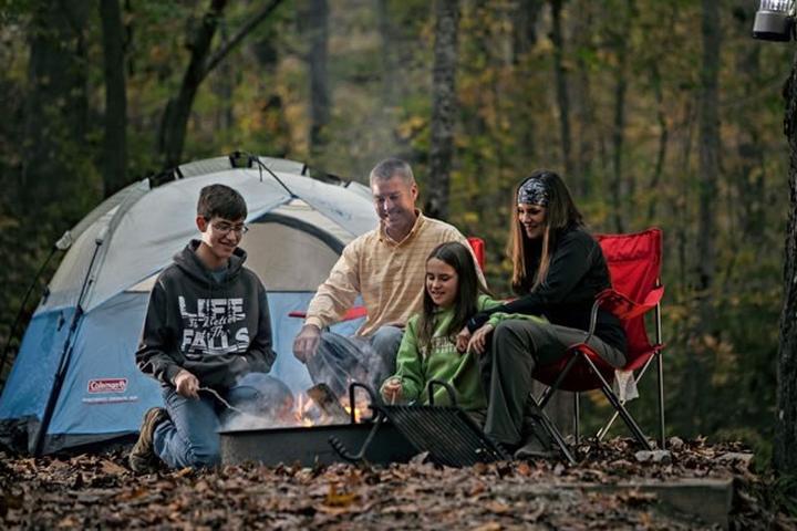 Pet Friendly Cumberland Falls State Park Campground
