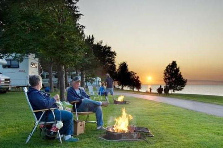 Pet Friendly Golden Hill State Park Campground