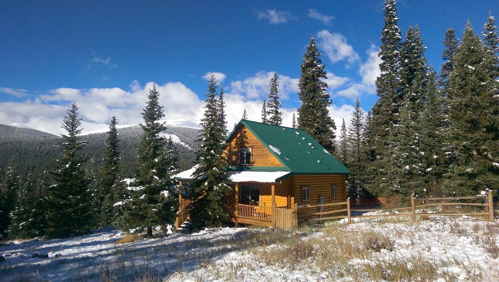 Secluded Log Cabin With Expansive Mountain Views Pet Policy