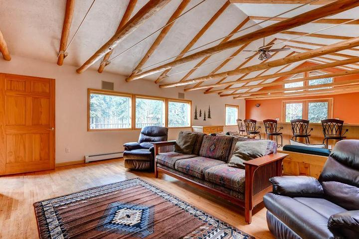 Pet Friendly Colorado Bear Creek Cabins Creekside Log Home
